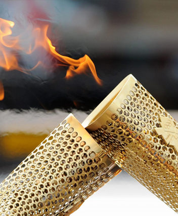 Manufacturing of the Olympic Torch
